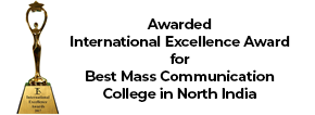Awarded Best Mass Communication and Journalism College