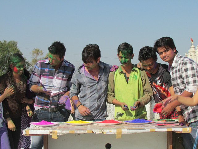 Holi In HIMCOM