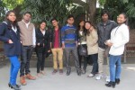 BMC 3 SEM BATCH CHEERING AT THE SHOW TIME..............