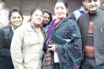 HIMCOM STUDENTS WITH FAMOUS TV PERSONALITY AND BJP MP MRS. SMRITI IRANI.